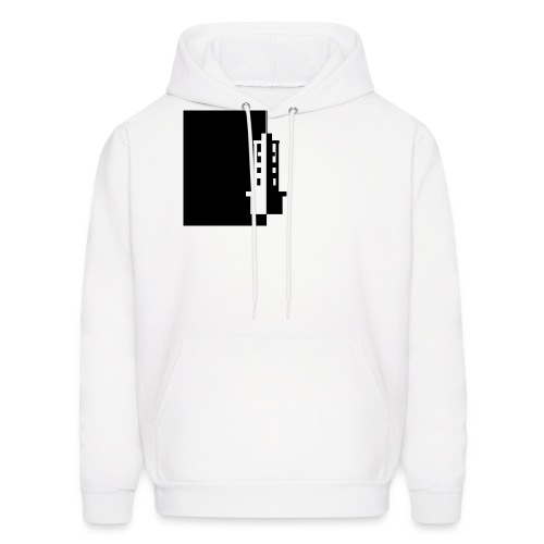 Black&White Tower - Men's Hoodie