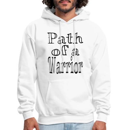 Path of a Warrior (White) - Men's Hoodie