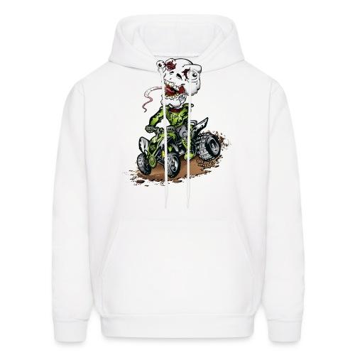 ATV Quad Crazy Skully - Men's Hoodie
