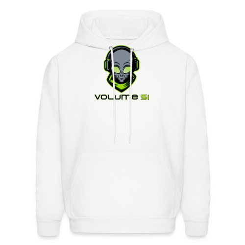 Volume 51 Text Logo - Men's Hoodie
