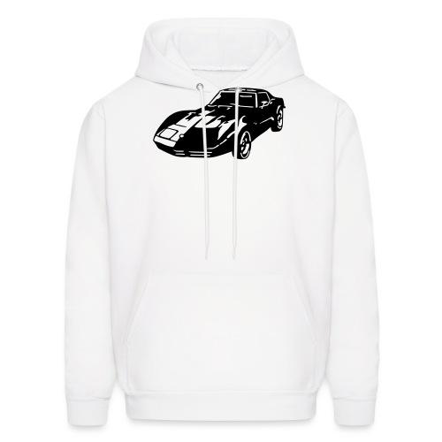 auto_80s_chevrolet_corvette_1c - Men's Hoodie