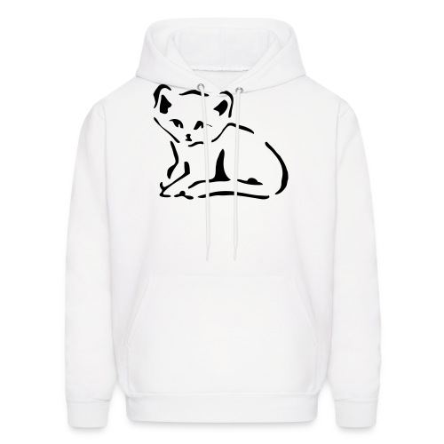 Kitty Cat - Men's Hoodie