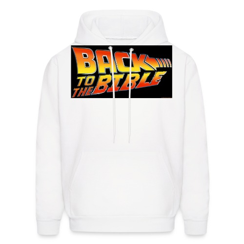 back to the bible tshirt - Men's Hoodie