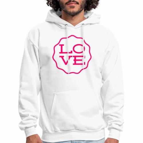 love design - Men's Hoodie