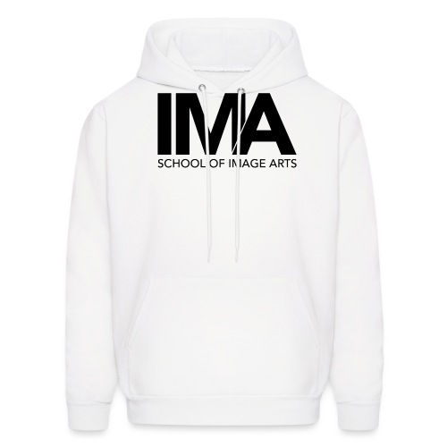 Copy of School of Image Arts Logos Black png - Men's Hoodie