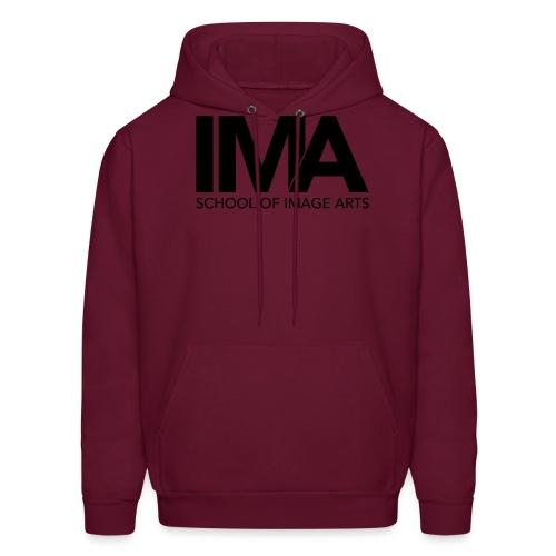 Copy of School of Image Arts Logos Black png - Men's Hoodie