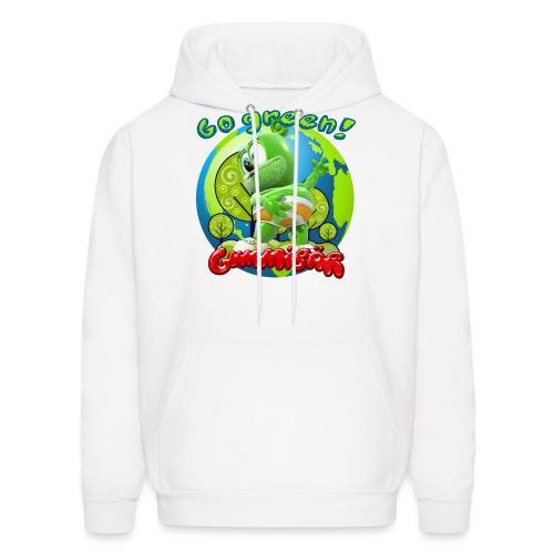 Gummibär Go Green Earth Day Earth - Men's Hoodie
