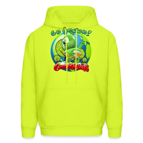 Gummibär Go Green Earth Day Earth - Men's Hoodie