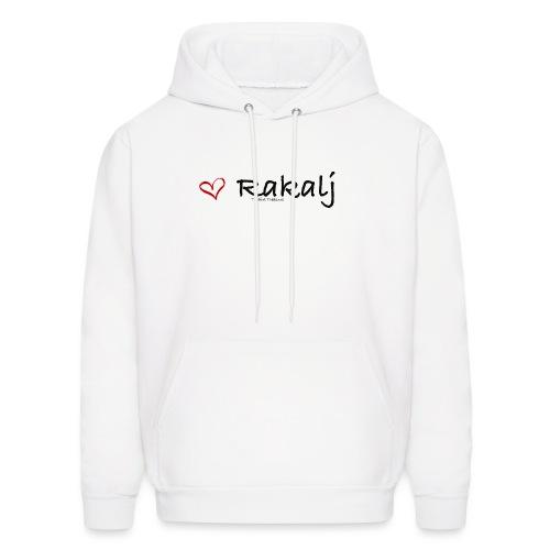 I love Rakalj - Men's Hoodie