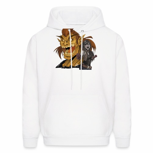 Fighter and the Demon - Men's Hoodie