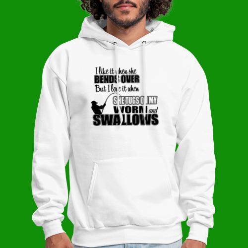 Worm & Swallows - Men's Hoodie