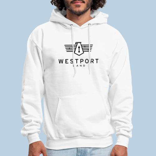 Westport Band Back on transparent - Men's Hoodie