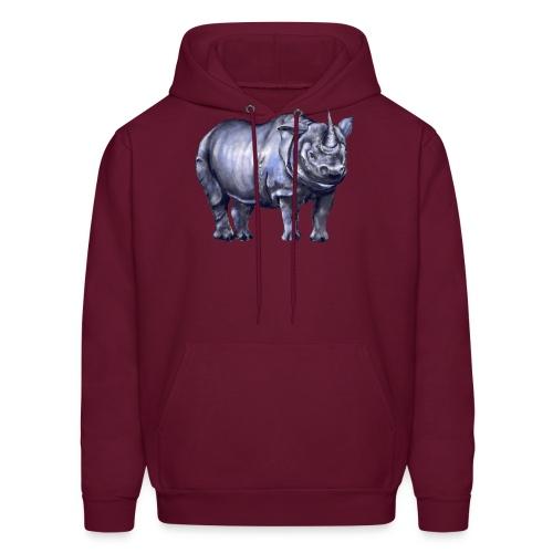 One horned rhino - Men's Hoodie
