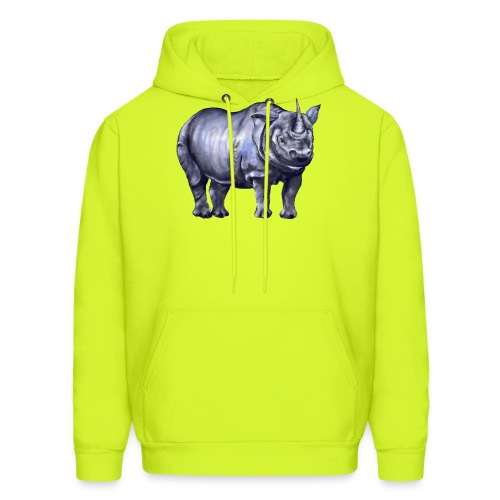 One horned rhino - Men's Hoodie