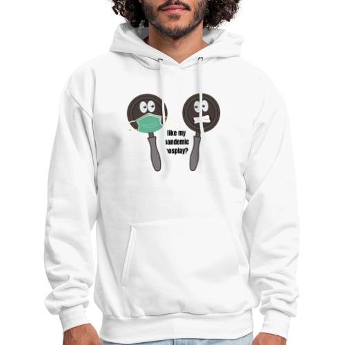 pandemic, cosplay, funny t-shirt, - Men's Hoodie