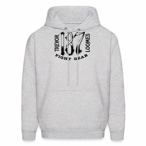 Trevor Loomes 187 Fight Gear Street Wear Logo - Men's Hoodie