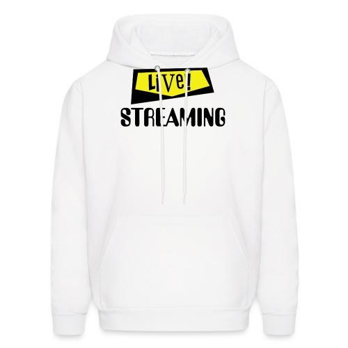 Live Streaming - Men's Hoodie