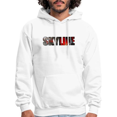 SKYLINE Rear - Men's Hoodie
