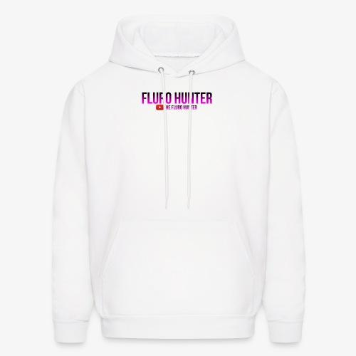 The Fluro Hunter Black And Purple Gradient - Men's Hoodie
