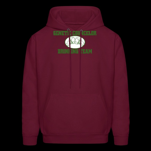 genetic counselor drinking team - Men's Hoodie