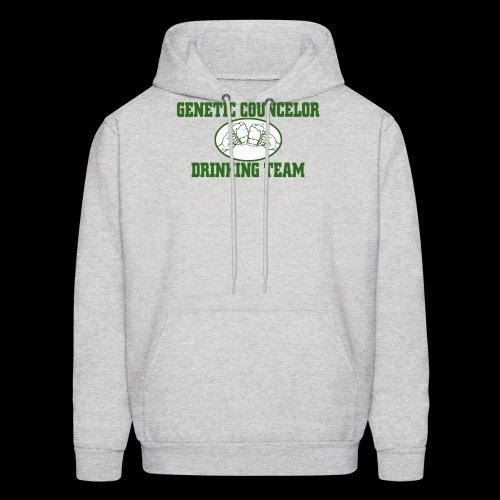 genetic counselor drinking team - Men's Hoodie