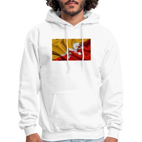 Bhutan Flag - Men's Hoodie
