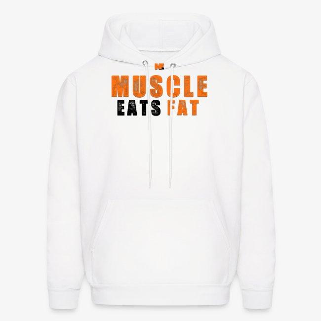 Muscle Eats Fat Black Orange Edition