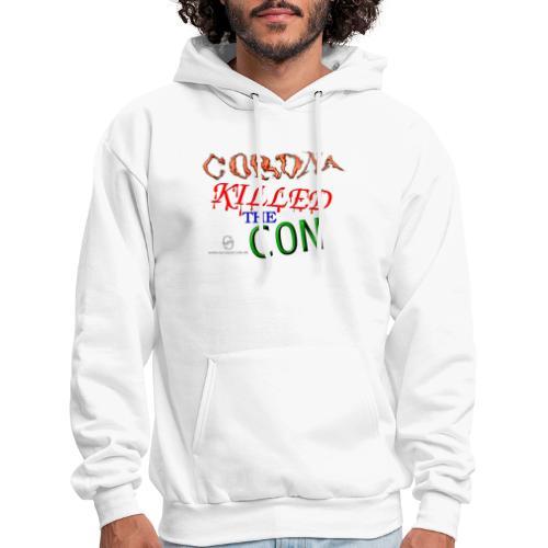 Corona Killed the Con - Men's Hoodie