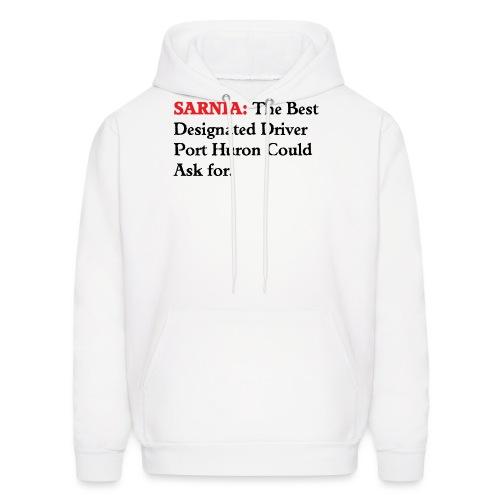 Sarnia: The Best Designated Driver - Float Down - Men's Hoodie