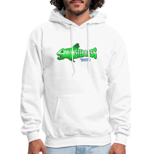 Monster bass fishing charters - Men's Hoodie