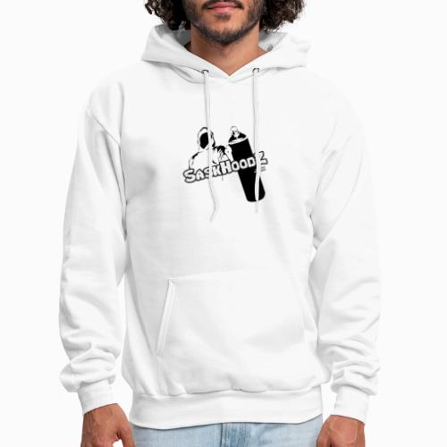 saskhoodz logo black - Men's Hoodie