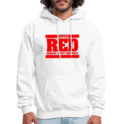 Remove every Democrat - Men's Hoodie