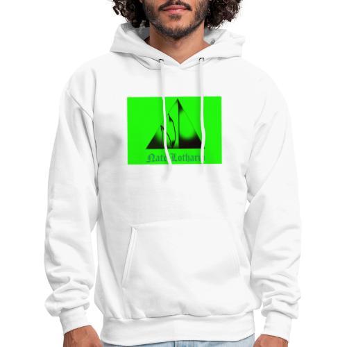 Lime Green Logo - Men's Hoodie