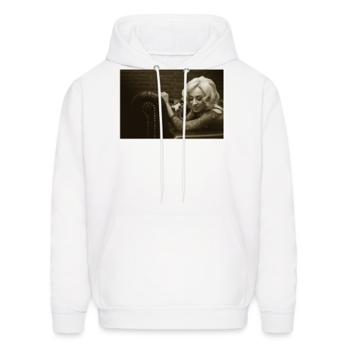 woman lying on the couch,fashion Classic Vintage 1 - Men's Hoodie