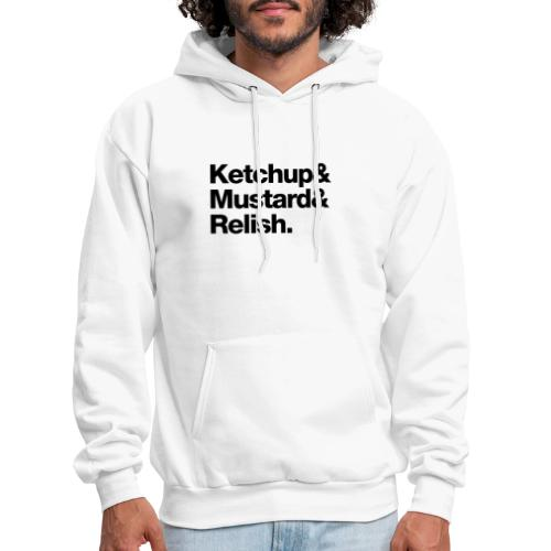 Condiments - Ketchup Mustard Relish - Men's Hoodie