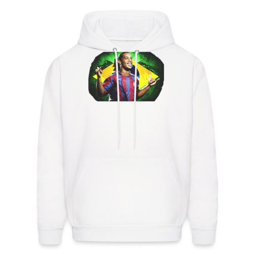 Ronaldinho Brazil/Barca print - Men's Hoodie