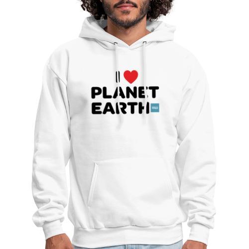 I Heart Planet Earth - Men's Hoodie