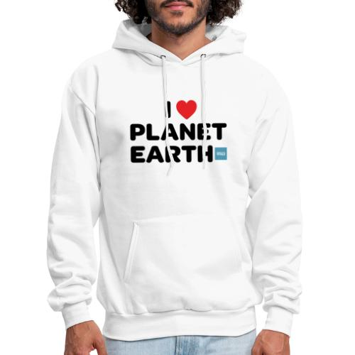I Heart Planet Earth - Men's Hoodie