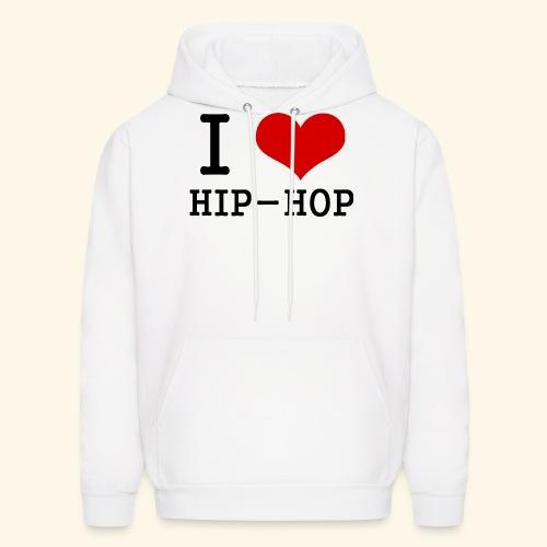 I love Hip-Hop - Men's Hoodie