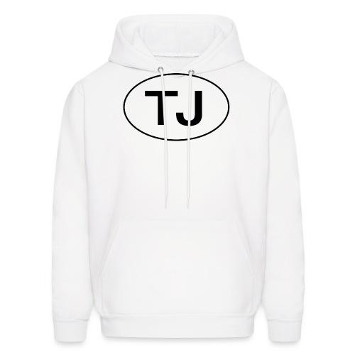 Jeep TJ Wrangler Oval - Men's Hoodie