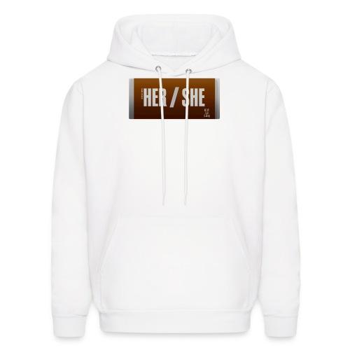 Her/She Bar! - Men's Hoodie