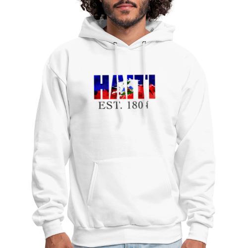 HAITI EST. 1804 - Men's Hoodie