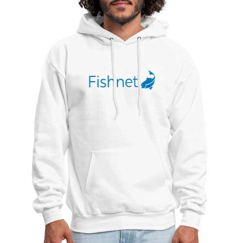 Fishnet (Blue) - Men's Hoodie