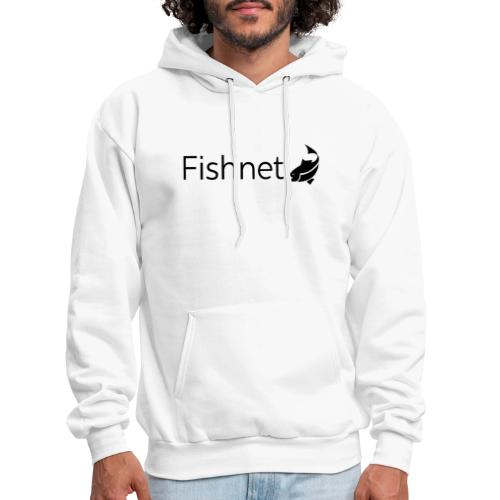Fishnet (Black) - Men's Hoodie