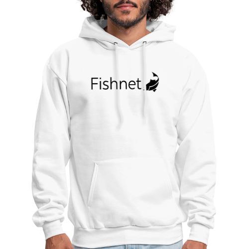 Fishnet (Black) - Men's Hoodie