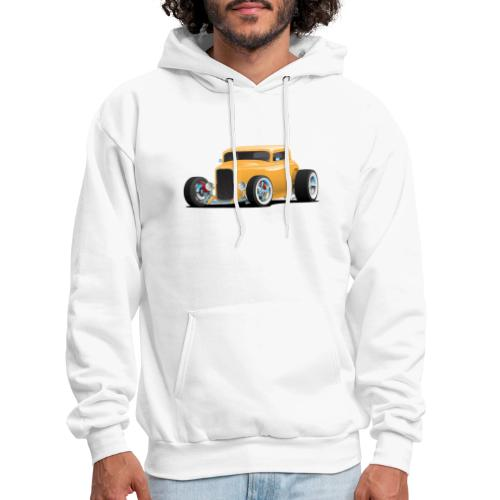 Classic American 32 Hotrod Car Illustration - Men's Hoodie
