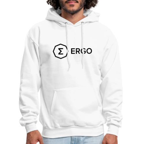 Ergo Symbol with Name - Men's Hoodie