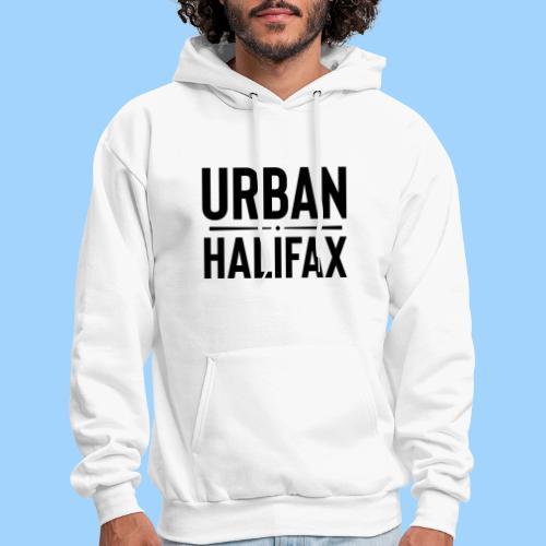 Urban Halifax logo (Black) - Men's Hoodie