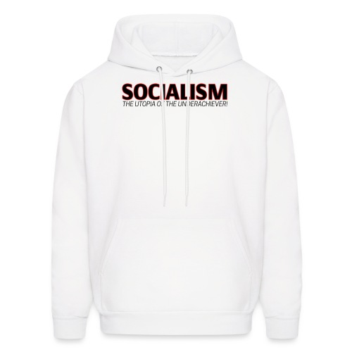 SOCIALISM UTOPIA - Men's Hoodie