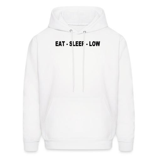 Eat. Sleep. Low - Men's Hoodie
